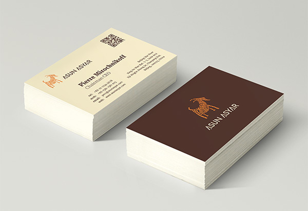 Asun Asyar business card